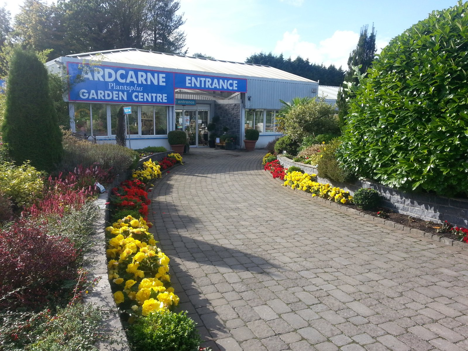 garden centre in Roscommon Town