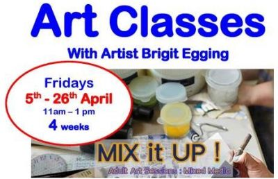 Art Classes with Brigit Egging