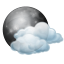 Tuesday: Partly cloudy